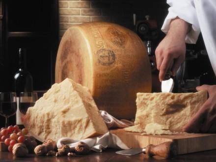 Degustation de Parmisan